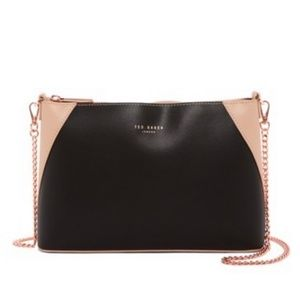 Ted Baker Jilly Colorblock Leather Crossbody Bag